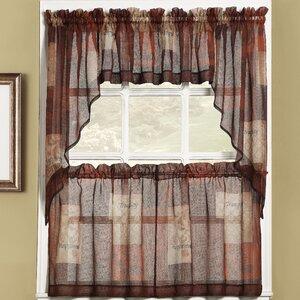 Eden Cafe Curtains (Set of 2)