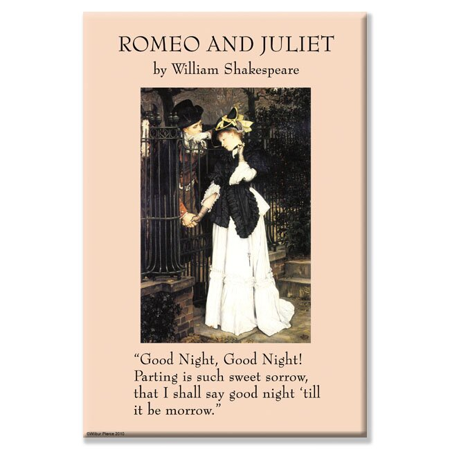 Romeo and Juliet Graphic Art on Wrapped Canvas