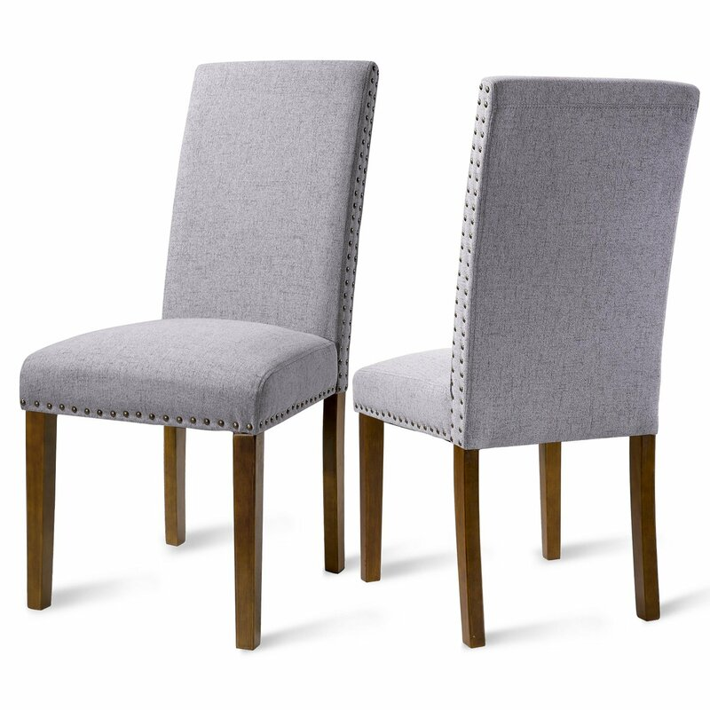 Luxurious Fabric Dining Side Chair