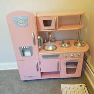 Cute Kitchen Play For My Toddler