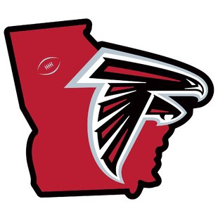 NFL Atlanta Falcons Home State Magnet