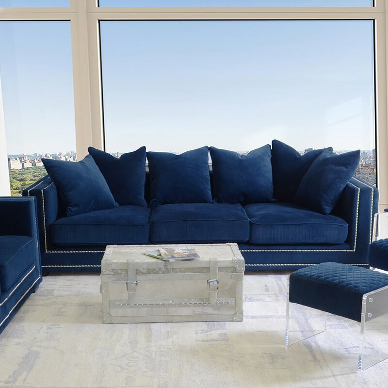 Cooper Velvet Sofa