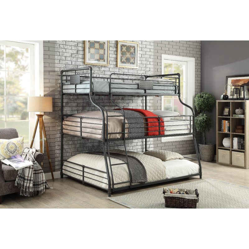 Prather Twin Over Full Queen Bunk Bed Harriet Bee \u0026 Reviews