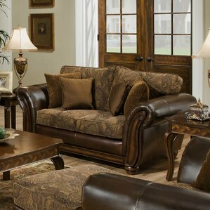 Astoria Grand Simmons Upholstery Aske Loveseat Image