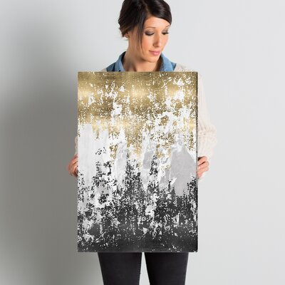 Wrought Studio 'Had a Moment' Painting Print on Wrapped Canvas Size: 24 H x 16 W x 1.5 D