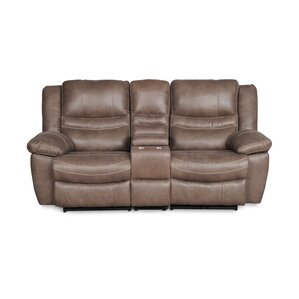 Margert Console Rocker Reclining Loveseat by Darby Home Co