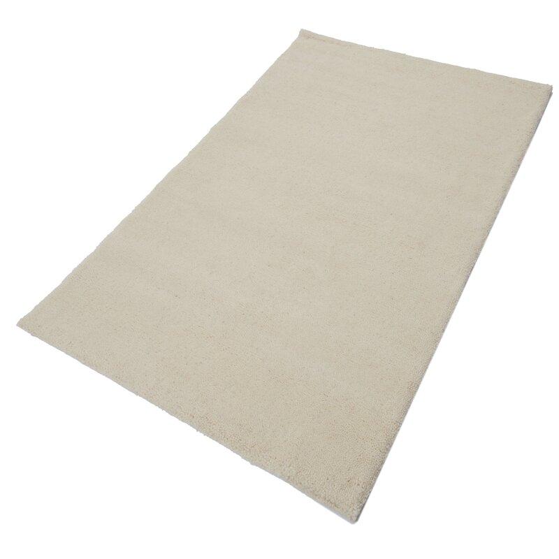 parwis handgefertigter teppich berber simpel in creme. Black Bedroom Furniture Sets. Home Design Ideas
