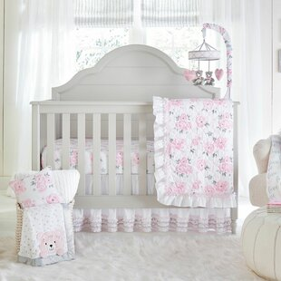 galbraith crib bedding set set of 4 - Baby Girl Bedding Sets