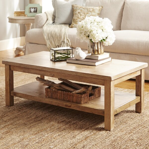 27 Eclectic Farmhouse Decor Family Rooms Coffee Tables 61: August Grove Flores Coffee Table & Reviews