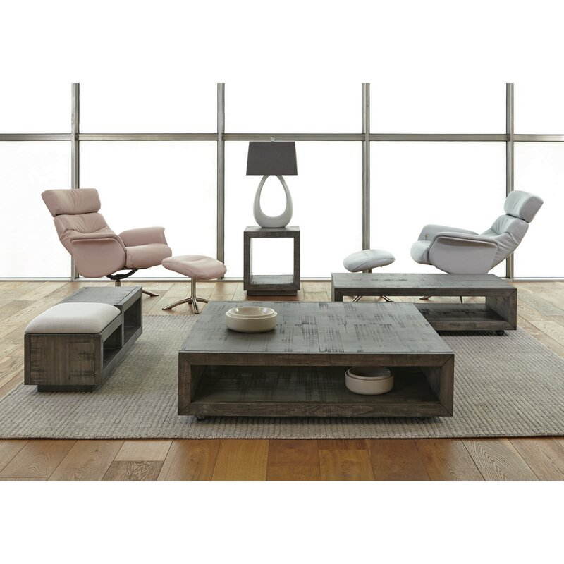 Balfour Square Coffee Table With Casters
