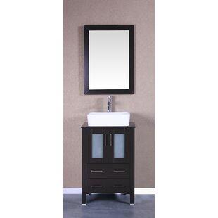 Quickview Breakwater Bay Lombardi 24 Single Bathroom Vanity Set