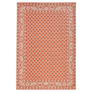 Botany Woven Orange Rug by bougari