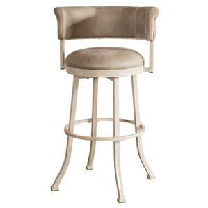 Alisia Swivel Bar Stool by Red Barrel Stu..