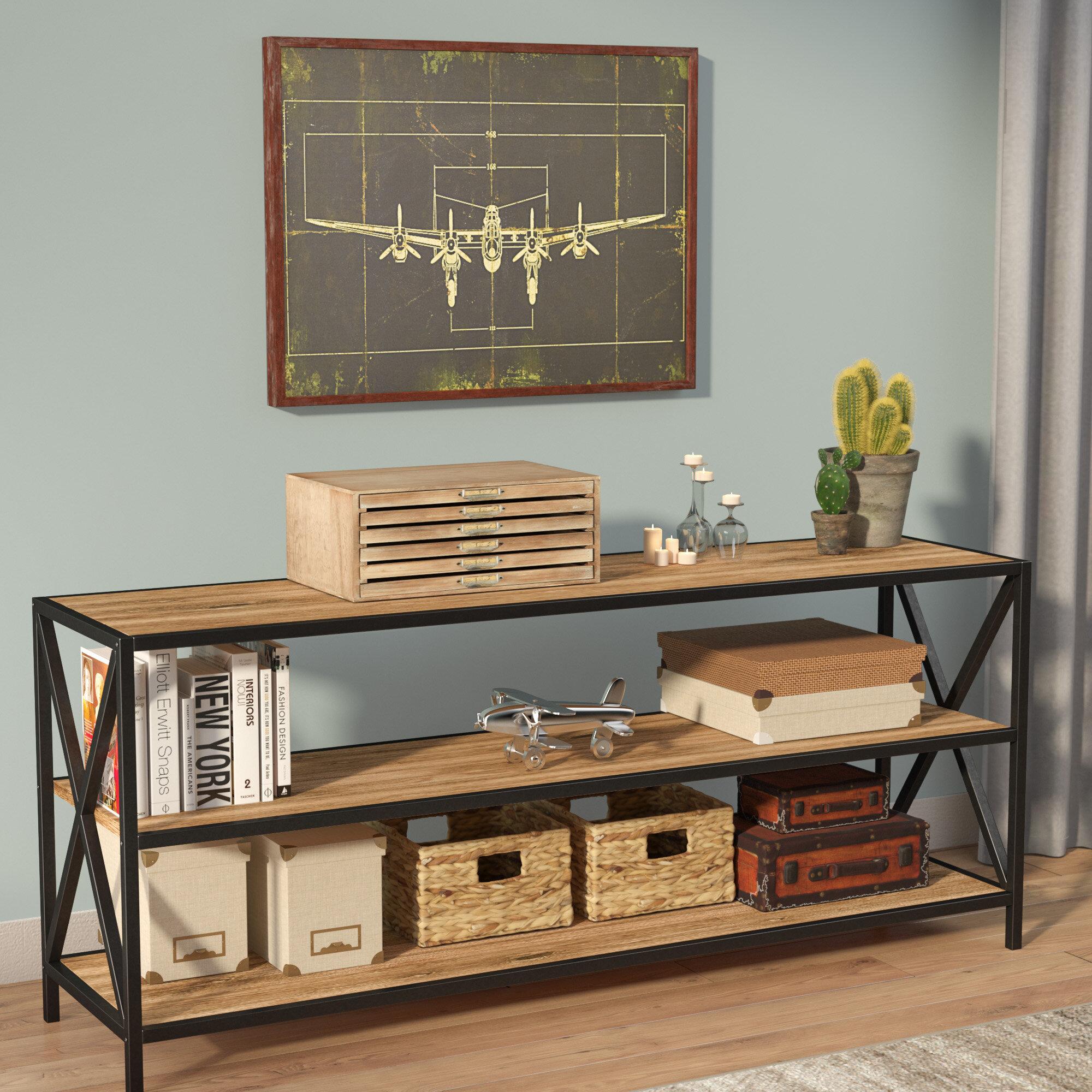 Trent Austin Design Augustus Media Etagere Bookcase U0026 Reviews | Wayfair
