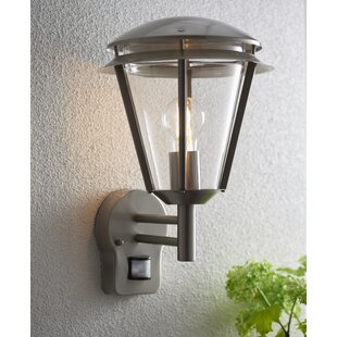 Inova Outdoor Sconce With Motion Sensor By Endon Lighting