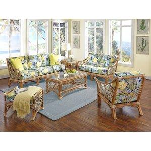 Bali 6 Piece Living Room Set by Spice Islands Wicker