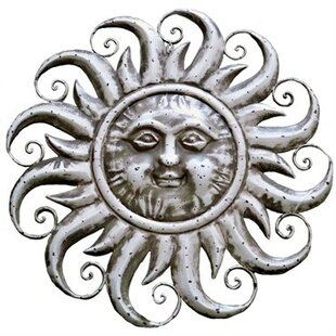 Sun Face Wall Décor  sc 1 st  Wayfair & Metal Sun Wall Decor | Wayfair