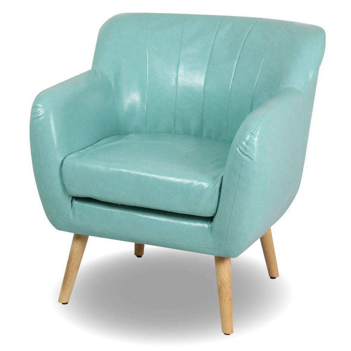 Incredible Powell Guest Mid Century Modern Armchair Ocoug Best Dining Table And Chair Ideas Images Ocougorg