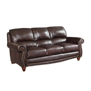 Leather Sofa by Wildon Home ?