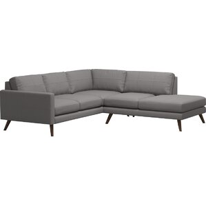 Dane Corner Sectional with Bumper by TrueMod..