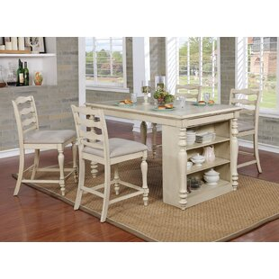 Benjamin Counter Height 5 Piece Dining Set