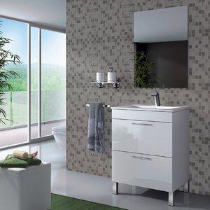 Home Etc 60 cm Waschtisch Althea mit Spiegel