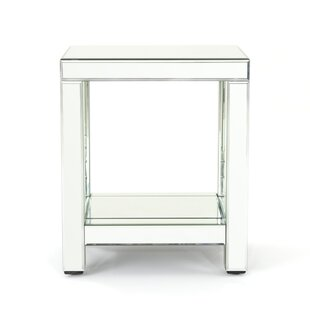Incroyable Lavanna Mirror End Table
