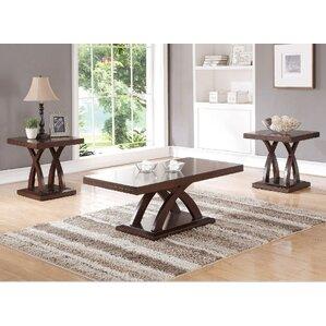 Lyman 3 Piece Coffee Table Set