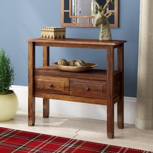 Beautiful Dark Brown Entry Table
