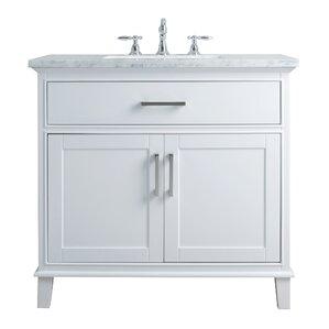 36 Bathroom Vanity 36 to 40 inch bathroom vanities you'll love | wayfair