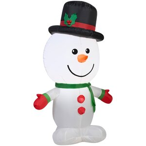 Airblown Outdoor Snowman Inflatable