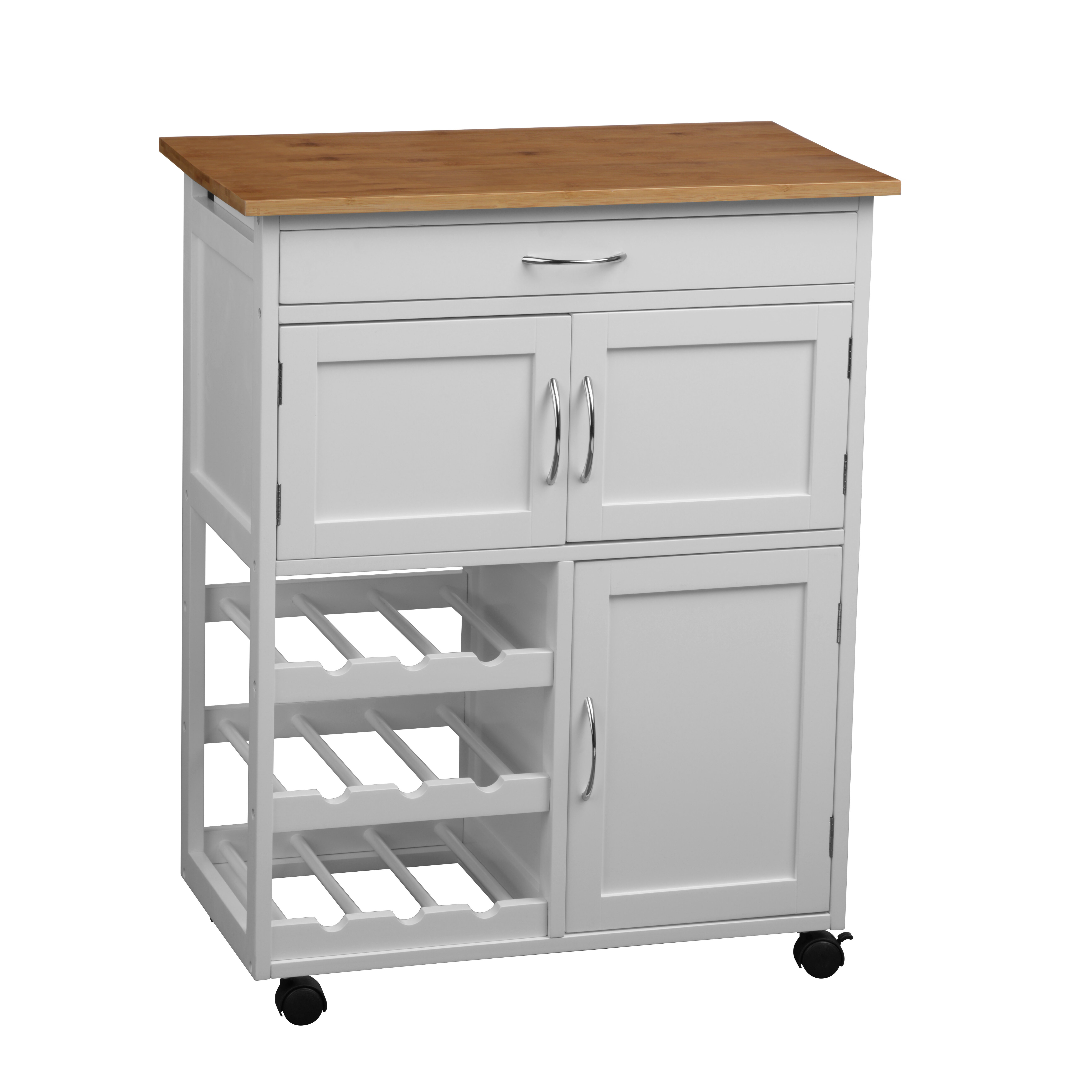 Riley Ave Jerome Kitchen Trolley Reviews Wayfair Co Uk