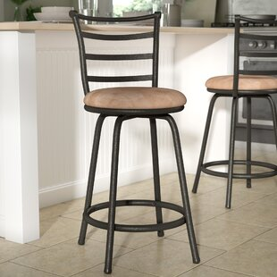 Deandre Adjule Height Swivel Bar Stool