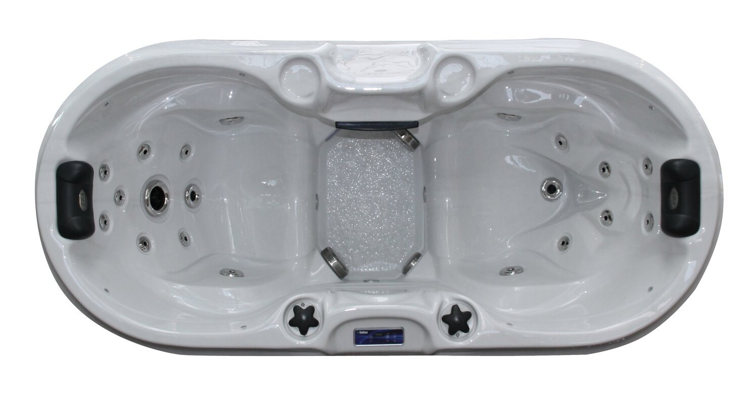 Passion Spas Bliss 2-Person 22-Jet Plug and Play Spa with LED Light ...