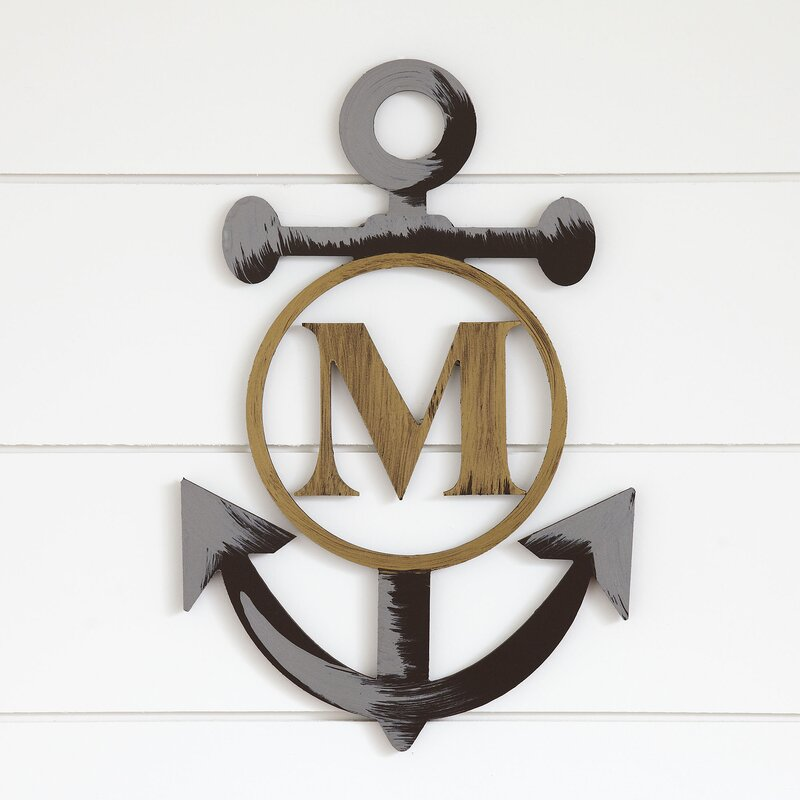 Good Custom Life Anchor Wall Decor