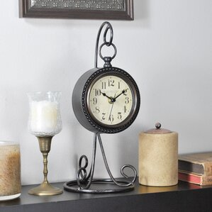 Charmed Tabletop Clock