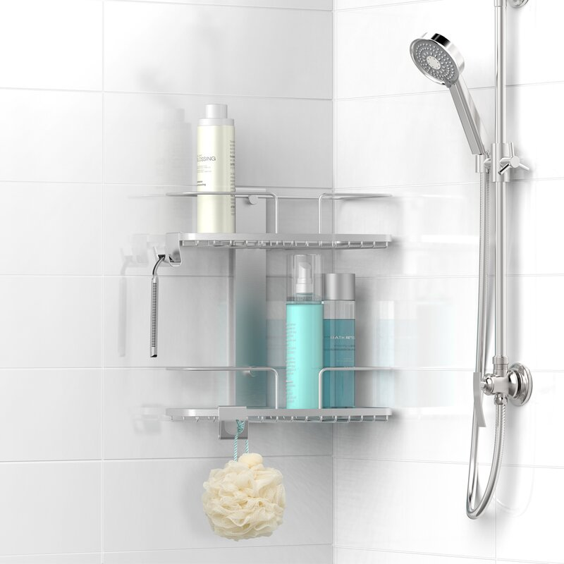 Rebrilliant Metal Shower Caddy & Reviews | Wayfair