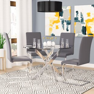 Fields 5 Piece Dining Set