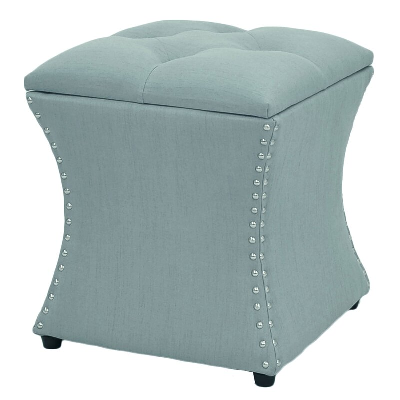 Mendes Upholstered Storage Ottoman