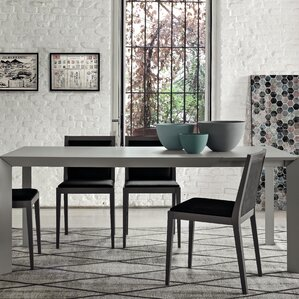 Twiggy Rectangular Open Pore Matt Lacquer Extendable Dining Table by YumanMod