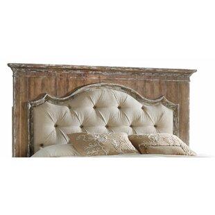 Hooker bedroom furniture Chatelet Upholstered Mantle Panel Headboard By Hooker Furniture Hayneedle Hooker Bedroom Furniture Wayfair