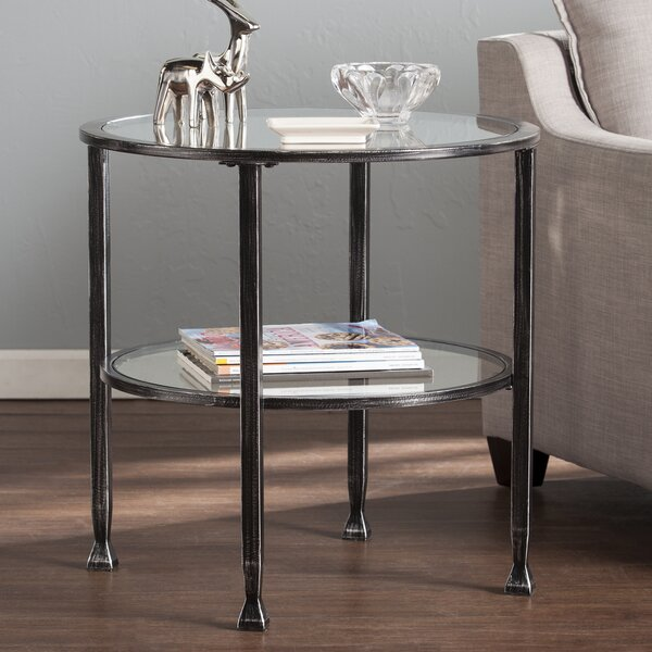 Orren Ellis Casas End Table U0026 Reviews | Wayfair