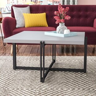 Baran Metal Base Coffee Table