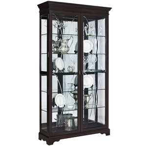 Blakeway Lighted Curio Cabinet by Darby H..