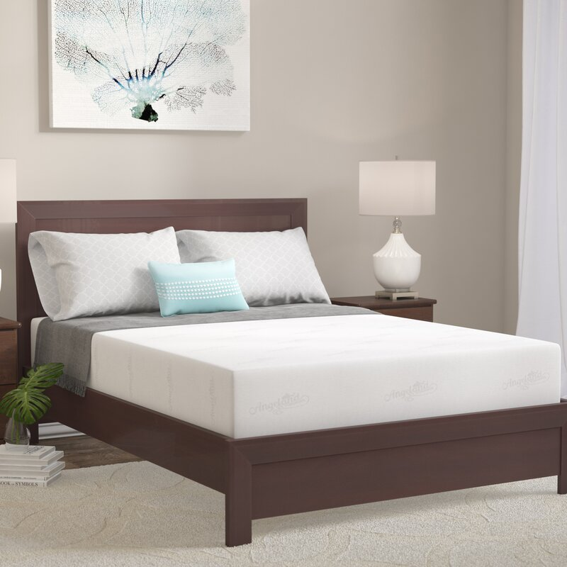 Luxury 10 Firm Memory Foam Mattress By Alwyn Home