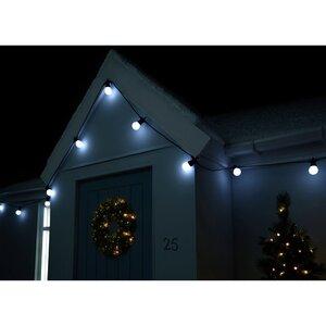 Globe Festoon 20 Light LED String Lighting