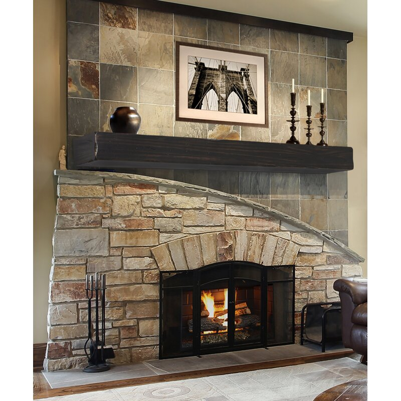 Pearl Mantels The Shenandoah Fireplace Shelf Mantel Reviews Wayfair