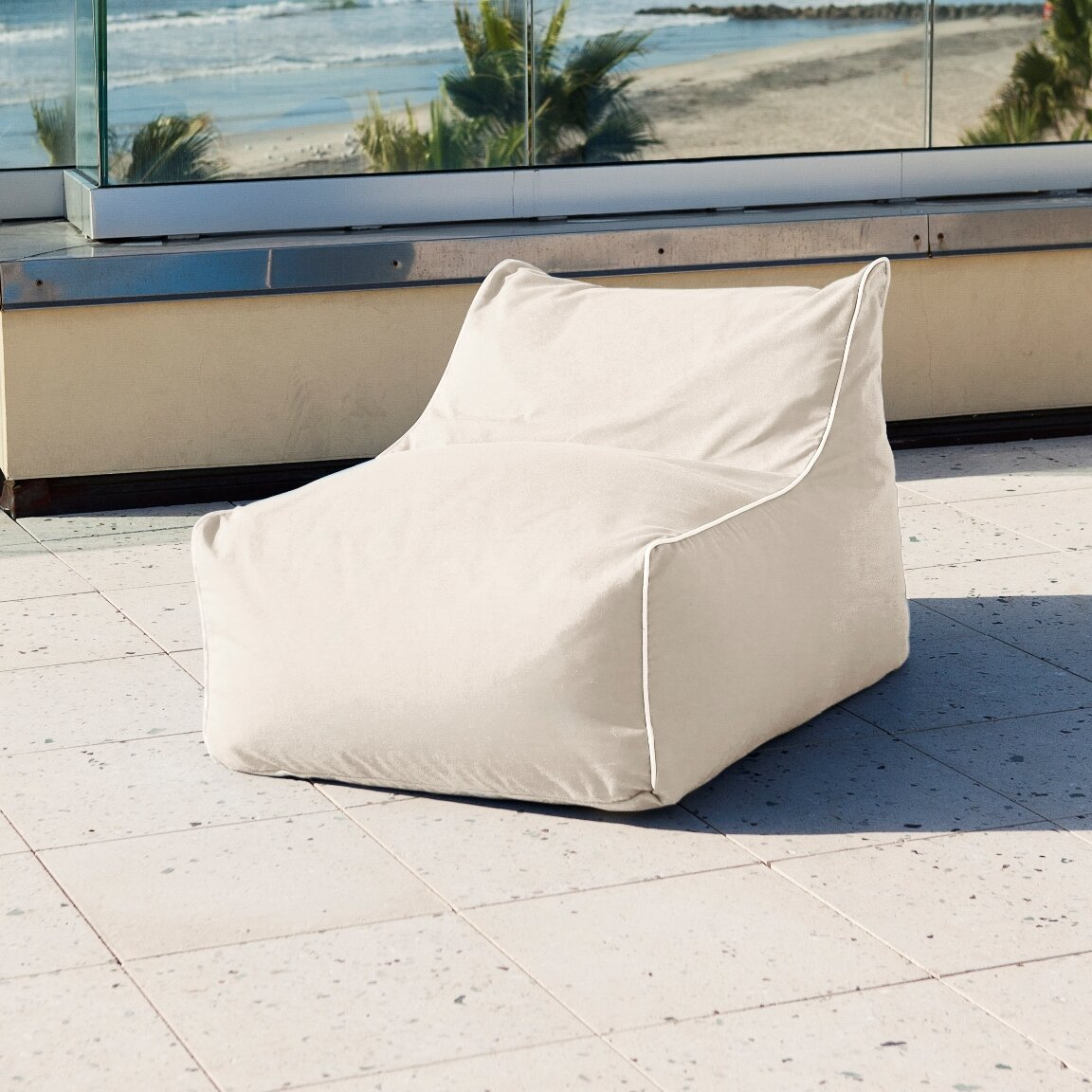 - Hip Chik Chairs Sunbrella Kids Bean Bag Lounger Wayfair