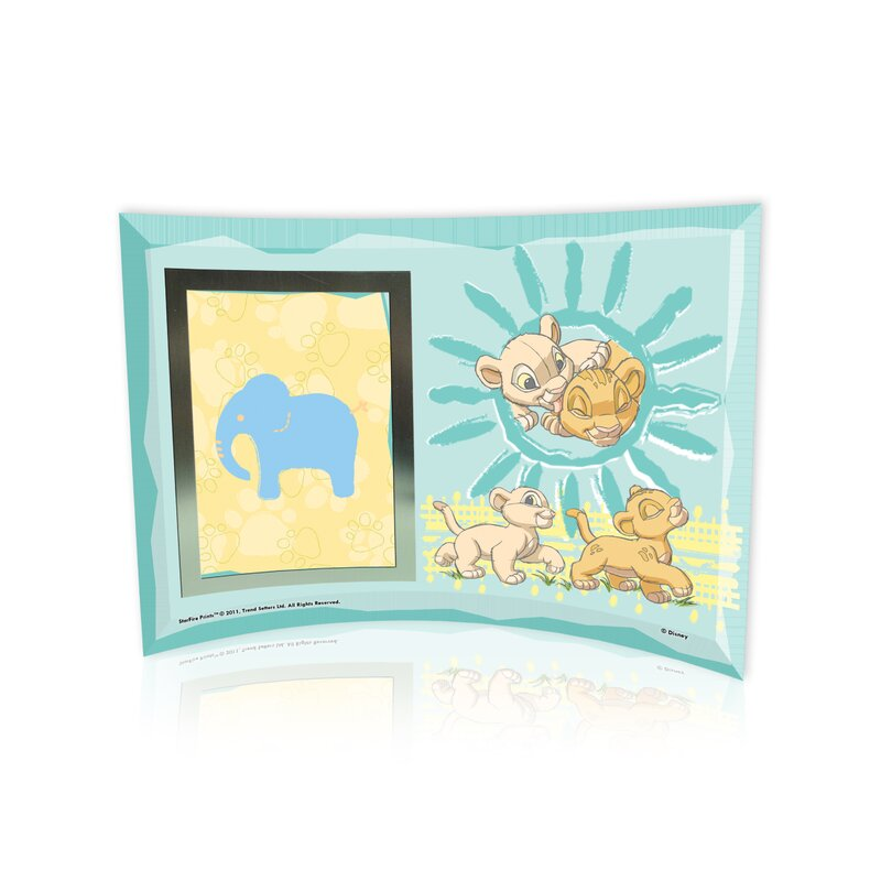 Trend Setters Lion King Best Friends Curved Glass Print