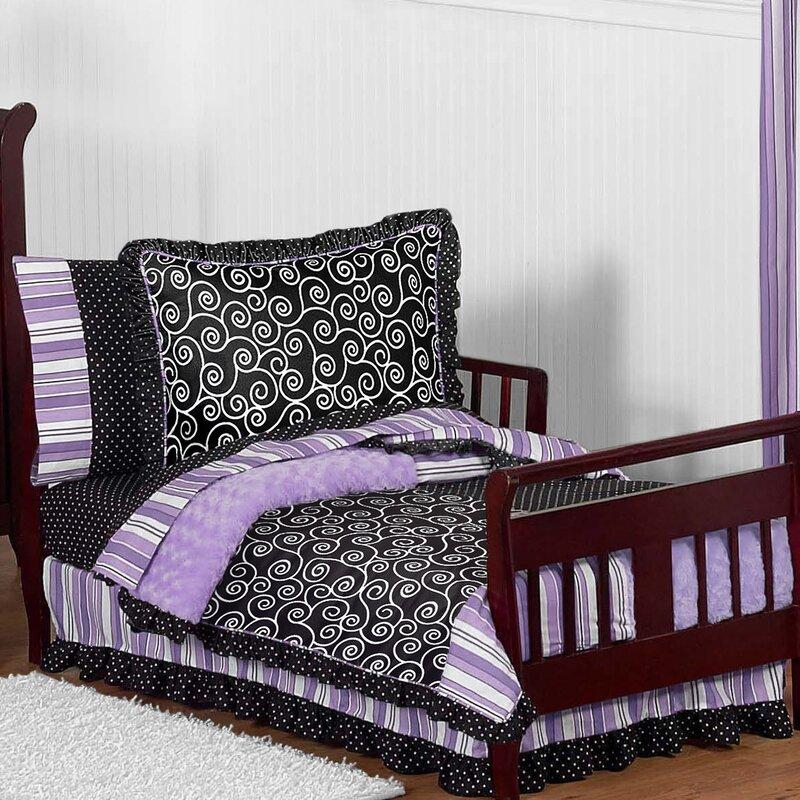 Sweet Jojo Designs Kaylee 5 Piece Toddler Bedding Set Wayfair